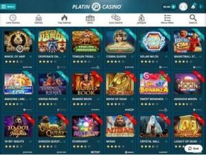 platin casino free games